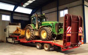 Transporte de maquinaria agrícola y tractores - MURPATRANS