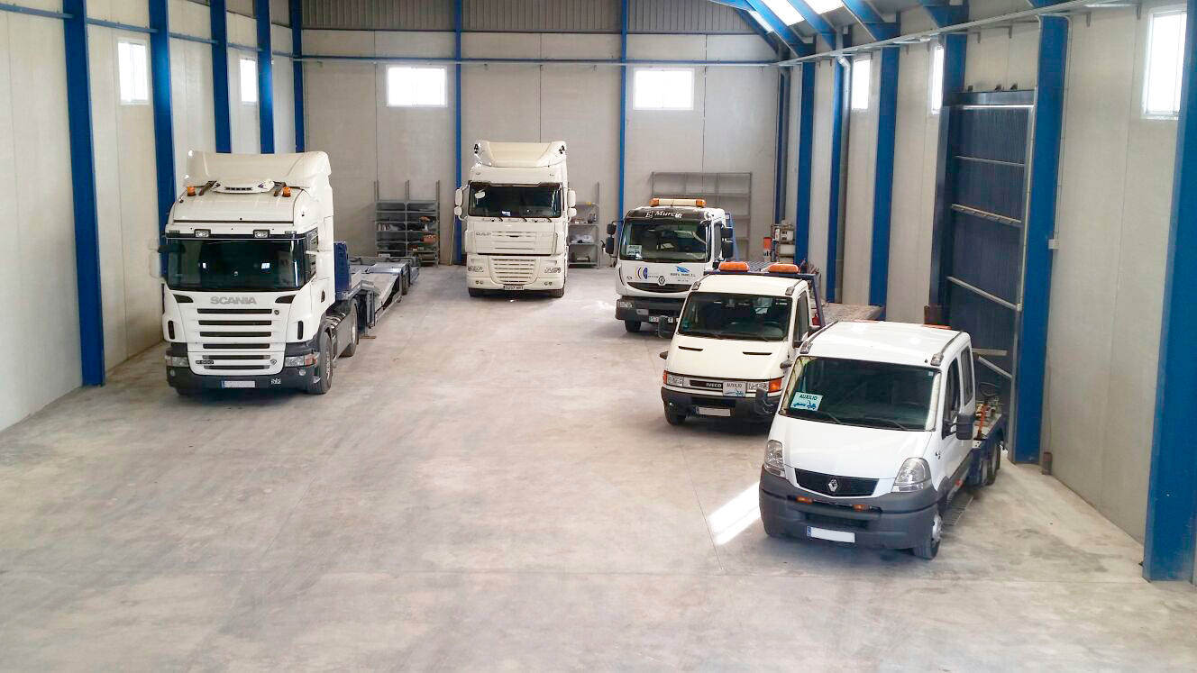 Transportes especiales por carretera en Murcia y Alicante - MURPATRANS
