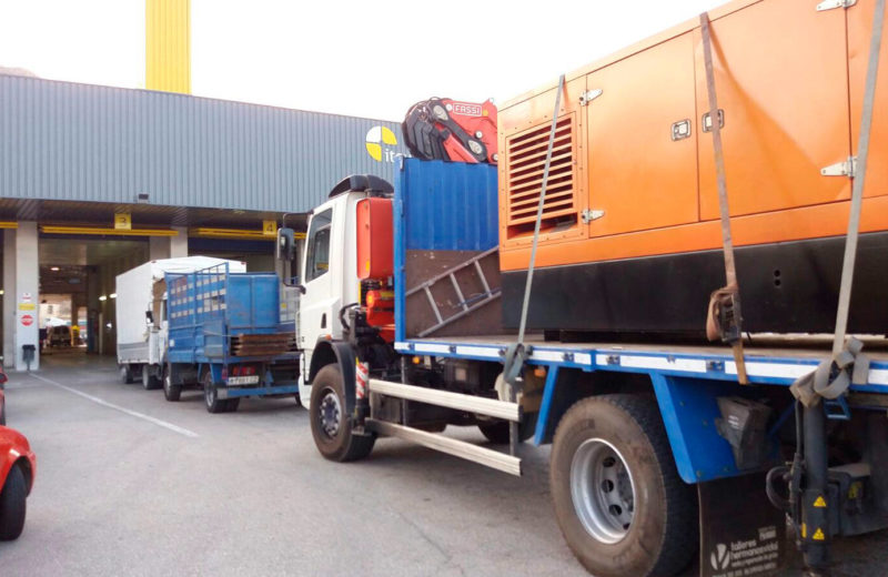 Servicios orientados al transporte de maquinaria - MURPATRASN