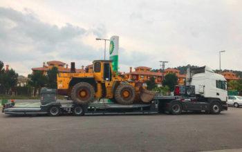 Empresa especializada en el transporte de maquinaria de construcción - MURPATRANS