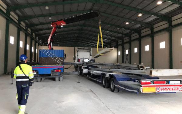 Transporte de maquinaria industrial en Murcia y Alicante - MURPATRANS