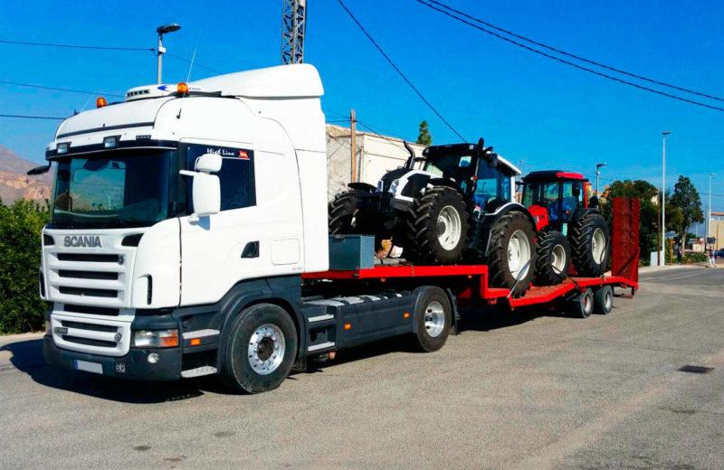 Transporte de maquinaria en Murcia y Alcante-MURPATRANS
