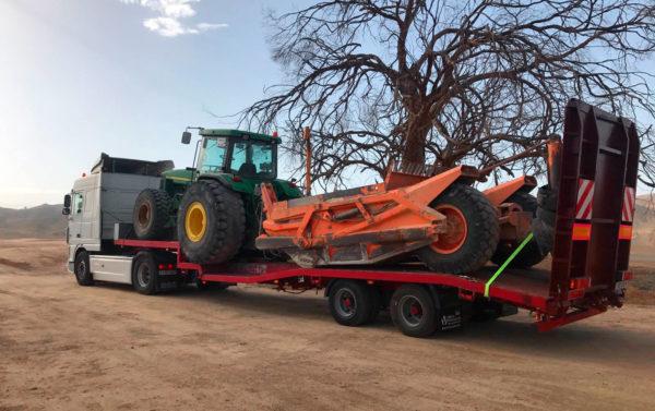 Transporte de maquinaria agrícola - MURPATRANS