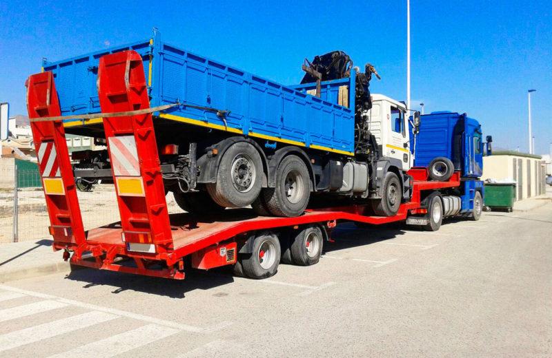 Góndolas para transporte de camiones - MURPATRANS