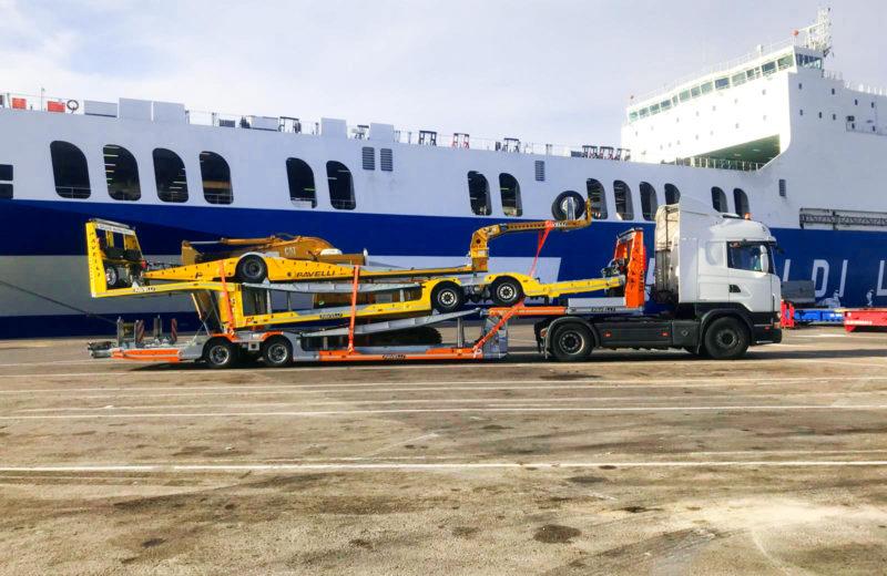 Empresa de transportes especiales por carretera