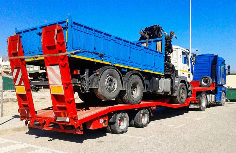 Góndolas para transporte de camiones y vehículos pesados -MURPATRANS