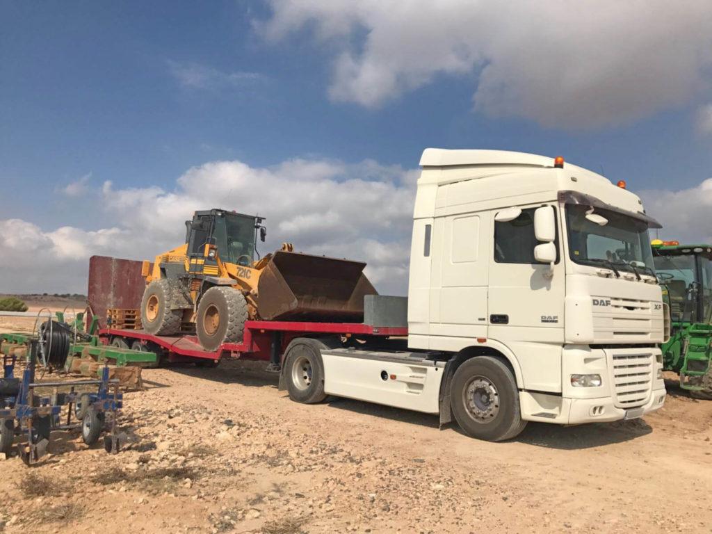 Transporte de maquinaria pesada - MURPATRANS