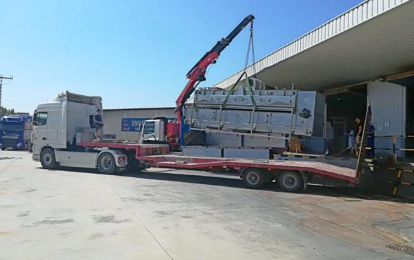 Transportes especiales de maquinaria - MURPATRANS