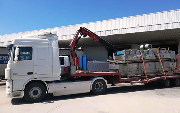 Transporte de cargas pesadas - Murcia - Alicante - MURPATRANS