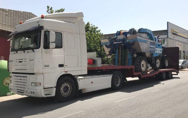 Transporte de Cosechadoras - MURPATRANS